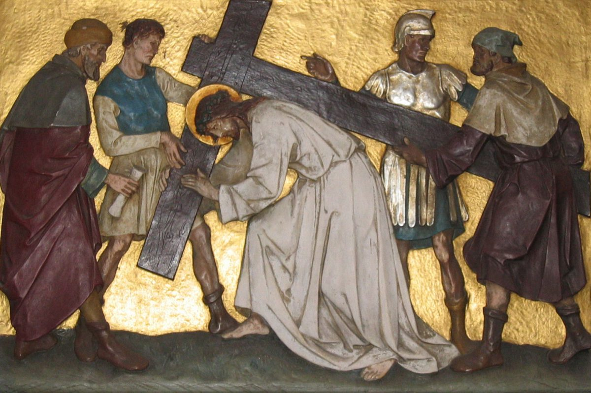 Stations of the Cross at CMS