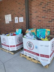 Our Food Drive Was A Great Success!!